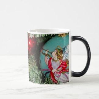Caneca Mágica Anjo do Natal - arte do Natal - decorações do anjo