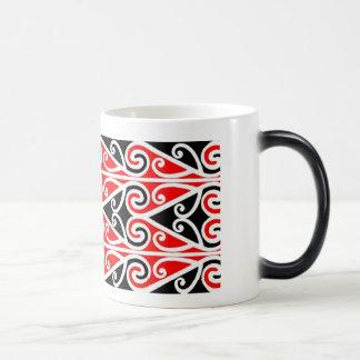 Caneca Mágica arte tribal do design maori para você