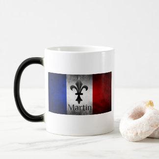 Caneca Mágica Bandeira do francês de Martin