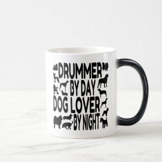 Caneca Mágica Baterista do amante do cão