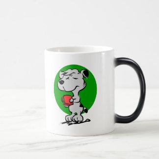Caneca Mágica Café do bebendo do cão