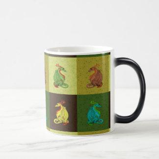 Caneca Mágica Coleção doce do dragão