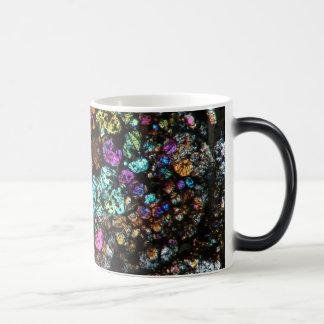 Caneca Mágica Copo de café fino 02 da seção do meteorito de NWA