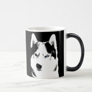 Caneca Mágica Copo legal ronco do rouco Siberian de copo de café