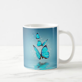 Caneca mágica das borboletas