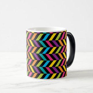 Caneca Mágica Design colorido 1 da forma na moda brilhante de