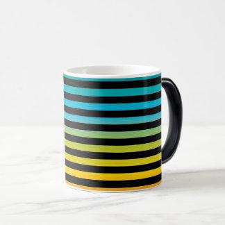 Caneca Mágica Design colorido 6 da forma na moda brilhante de