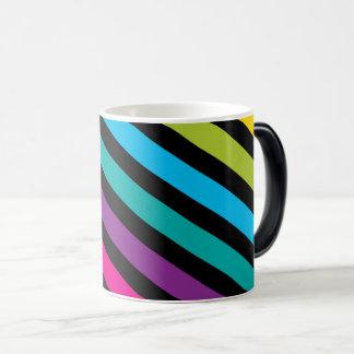 Caneca Mágica Design colorido 7 da forma na moda brilhante de