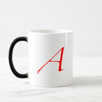 """Caneca Mágica escarlate de """"A """""""