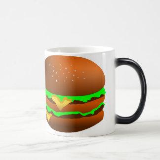 Caneca Mágica Eu gosto de Hamburger,