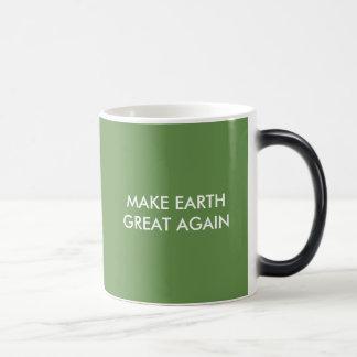 Caneca Mágica Faça o excelente da terra (e o verde) outra vez!