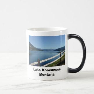 Caneca Mágica Lago Koocanusa Montana noroeste