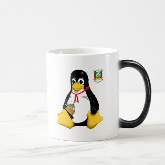 Caneca Mágica Linux Galdério