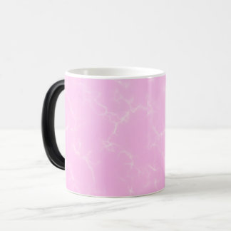 Caneca Mágica Mármore elegante style5 - rosa das flores de