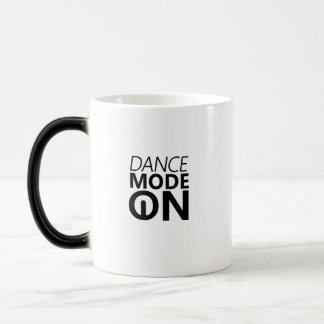 Caneca Mágica Modo da dança do presente da dança sobre