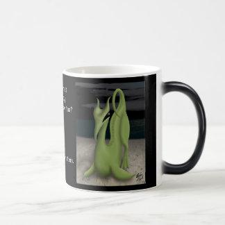 Caneca Mágica Monstro do café