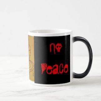 Caneca Mágica Nenhum café nenhuma paz