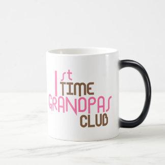 Caneca Mágica ø Clube dos vovôs do tempo (rosa)