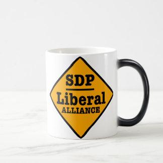 Caneca Mágica O SDP Alliance liberal assina