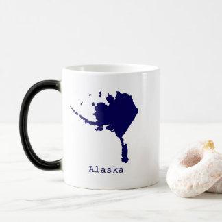 Caneca Mágica Os Estados Unidos mínimos de Alaska
