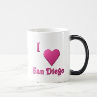 Caneca Mágica San Diego -- Rosa quente