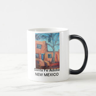 Caneca Mágica Santa Fé Adobe, New mexico