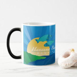 Caneca Mágica Tartaruga da baía de Havaí Hanauma