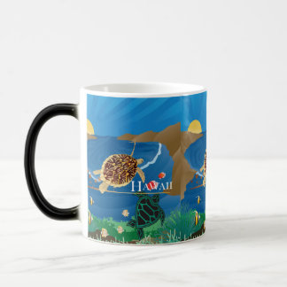 Caneca Mágica Tartaruga de Havaí da baía de Hanauma