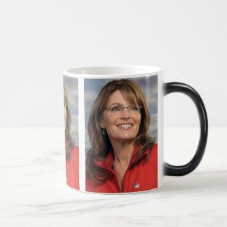 Caneca Mágica Trapaceiro indo da menina de cobrir de Sarah Palin