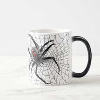 Caneca Mágica Veio avante uma aranha…