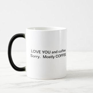 Caneca Mágica Você e café