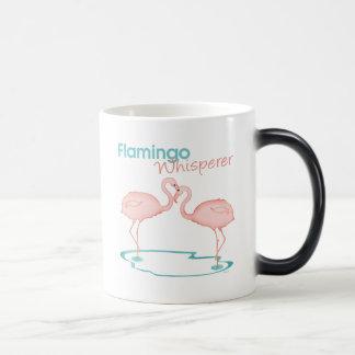 Caneca Mágica Whisperer do flamingo