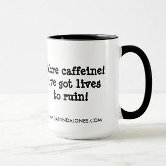 Caneca Mais cafeína!