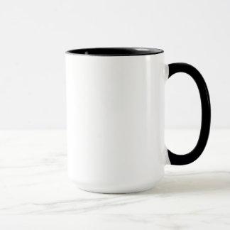 Caneca Mantenha o copo de café calmo & do retorno do fogo