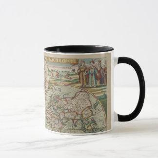 Caneca Mapa do mundo antigo, copo/caneca