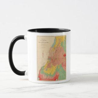 Caneca Mapa Geological de Utá