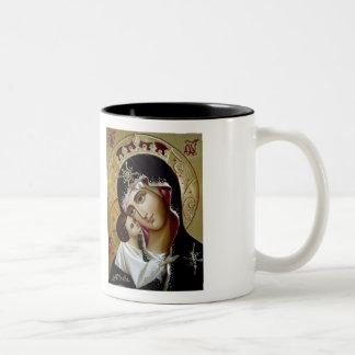 Caneca mariana do ícone