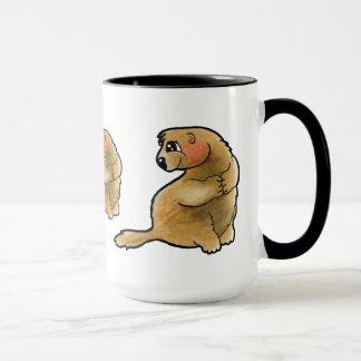 Caneca Marmota taça