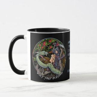 Caneca Massacre seu presente de Dragons.Personalized.