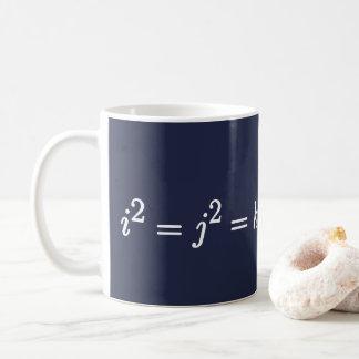 Caneca matemática da ciência de Hamilton