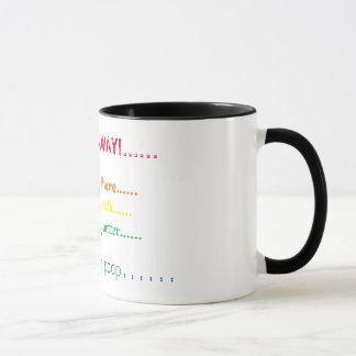 Caneca Medidor do café