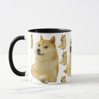 Caneca meme do doge - doge cão-bonito do doge-shibe-doge