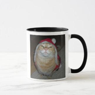 Caneca Meow-y pouco Natal