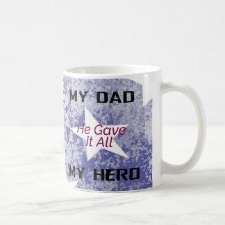 Caneca - meu pai meu herói