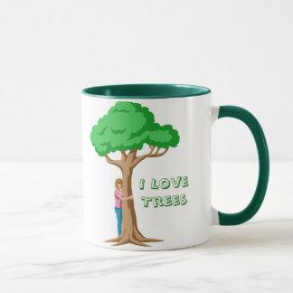 Caneca Mim árvores de amor