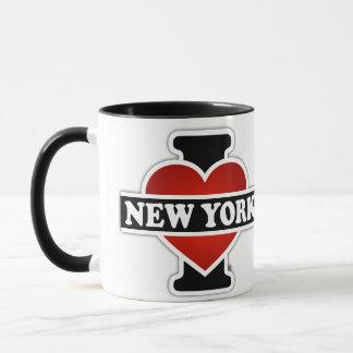 Caneca Mim coração New York