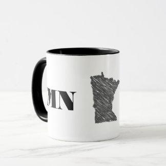 Caneca Minnesota orgulhoso