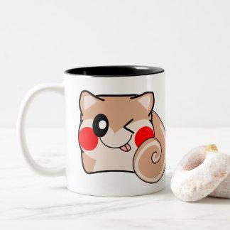 Caneca minúscula do esquilo