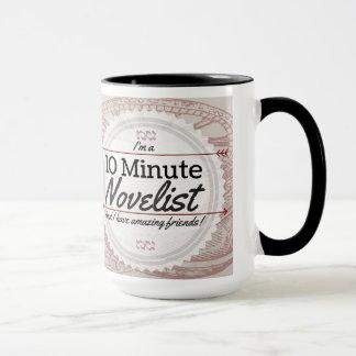 Caneca minuto do escritor 10