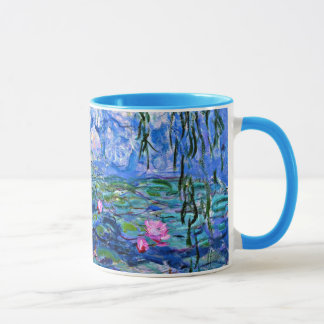 Caneca Monet: Lírios de água 1919